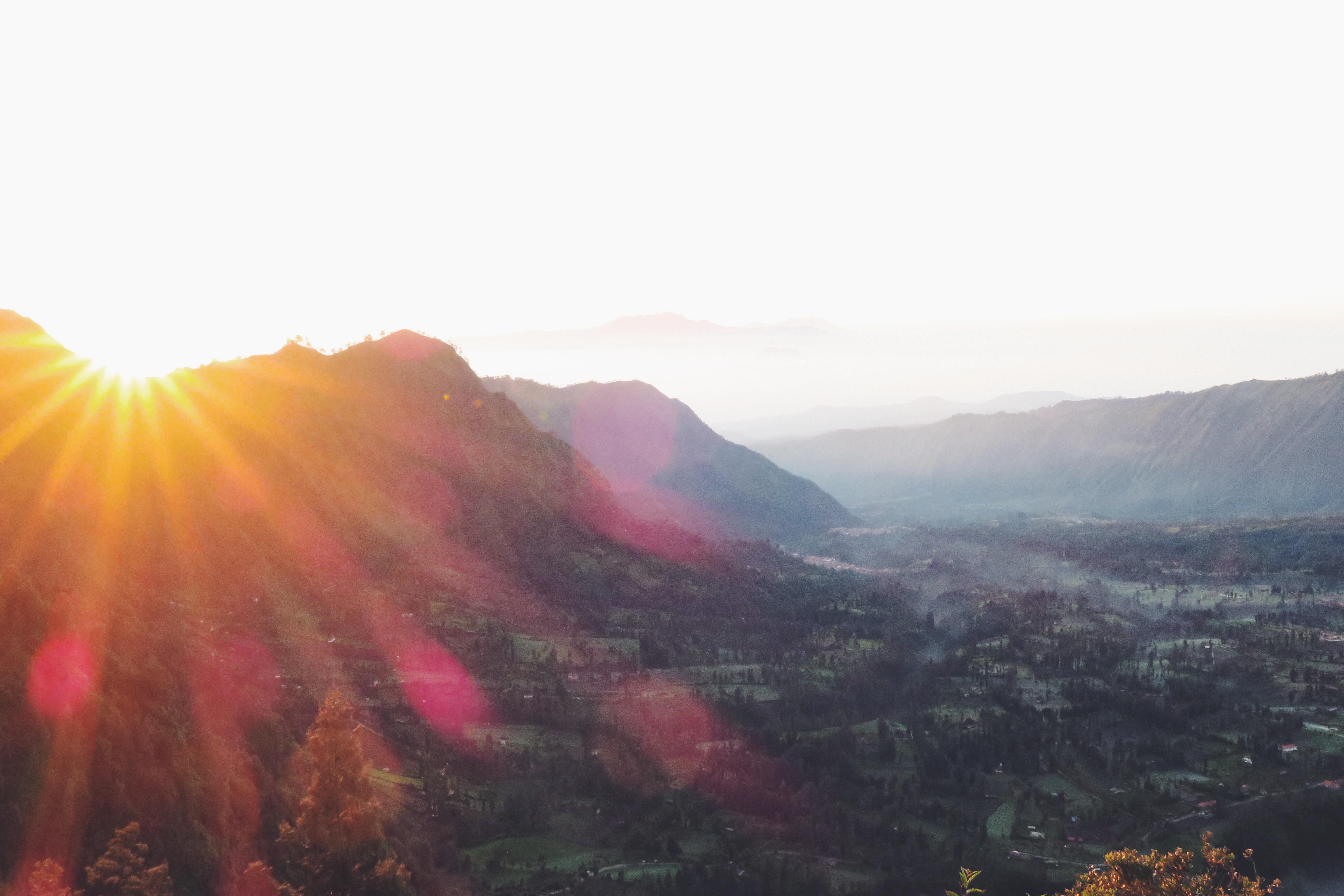 Bromo Sunrise Sonne